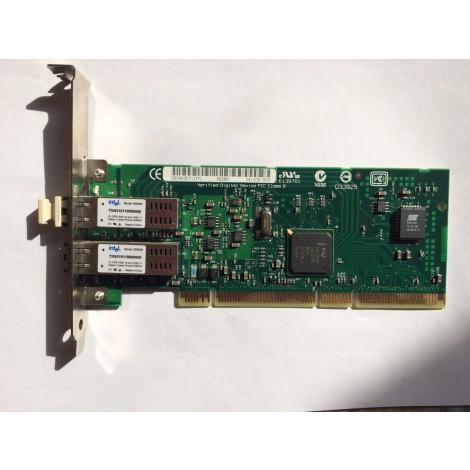 Сетевая карта Intel PWLA8492MFBLK5 PRO/1000 MF Dual Port i82546GB 2x1000Base-SX 2x1Гбит/сек Fiber Channel PCI/PCI-X(C41300)