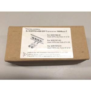 Трансивер 2х3 CSFP93-4500 SFP 1000Base-T